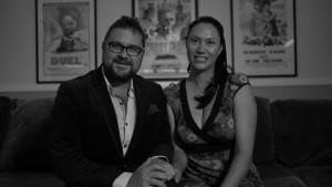 Brad and Tania from The Big Movie Company